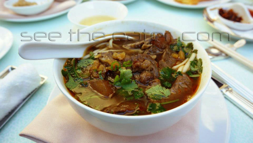 Shanghai Noodles, Spicy Taiwanese Style Beef in Soup (紅燒牛肉麵)