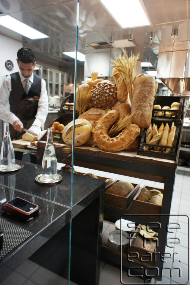 Amazing bread cart.