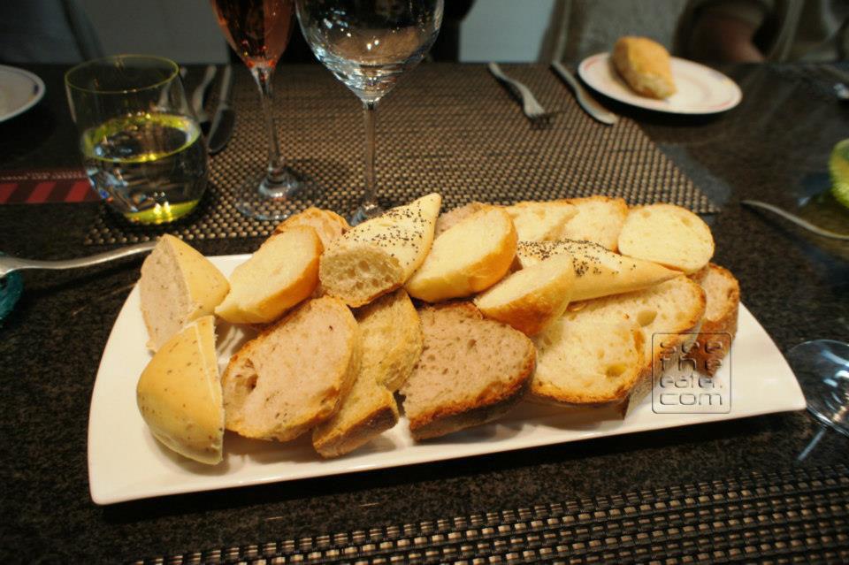 Assortment of bread.