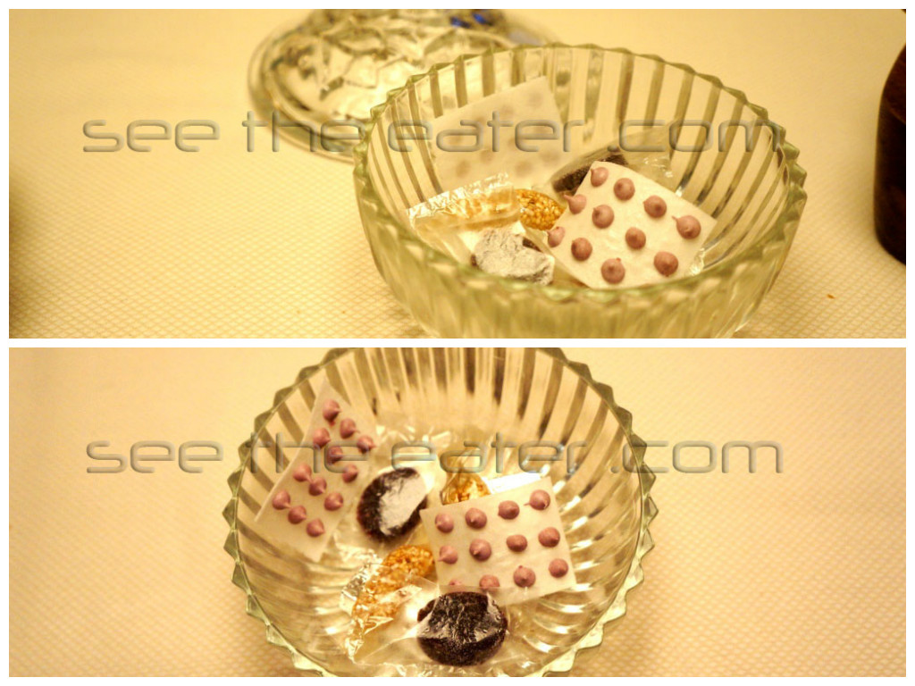 A Candy Dish EVERYTHING, including the wrappers are made to be edible