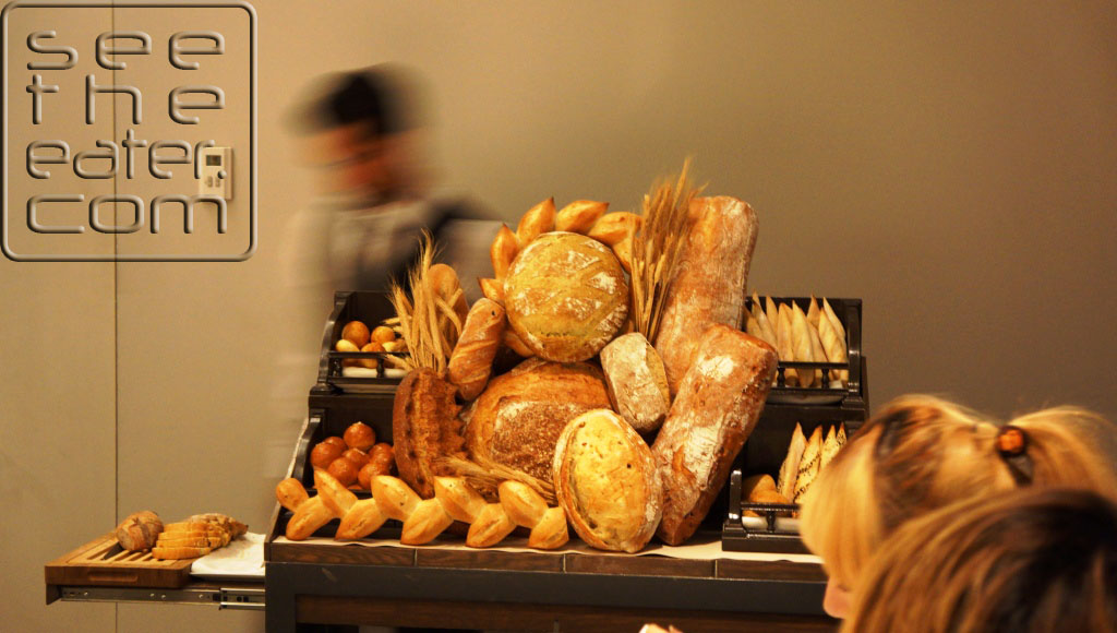Amazing variety of daily baked breads.