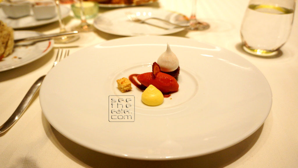 The Strawberry Paired with Charles Hours, Uroulat, Jurancon, 2010