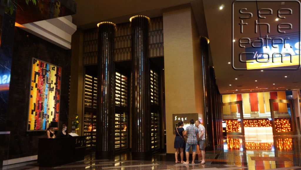 Entrance to Sage in Aria Hotel and Casino