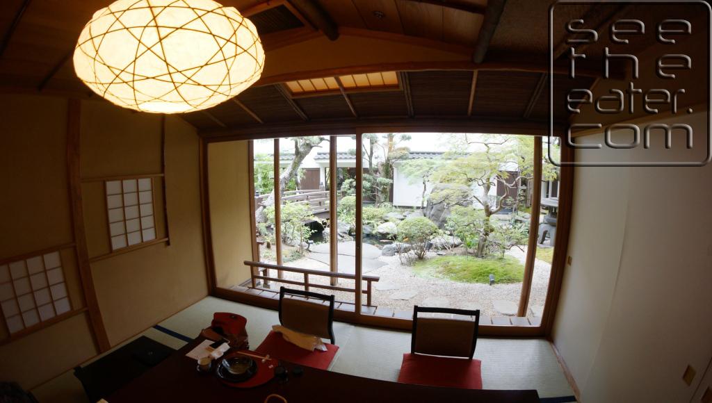 Private tatami dining room