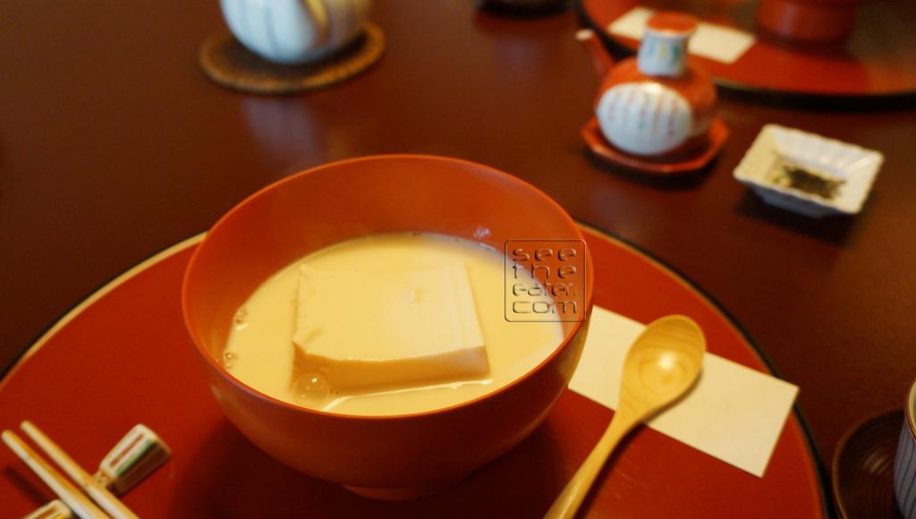 Tofu in Seasoned Soy Milk