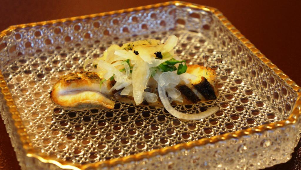 Sauteed Japanese Sea Bass (additional course in the Matsu set)